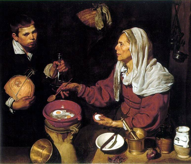 Velazquez, Old Woman Cooking Eggs -- at MFA, Free on 6/22