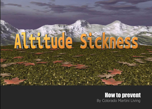 Altitude Sickness – How to Prevent
