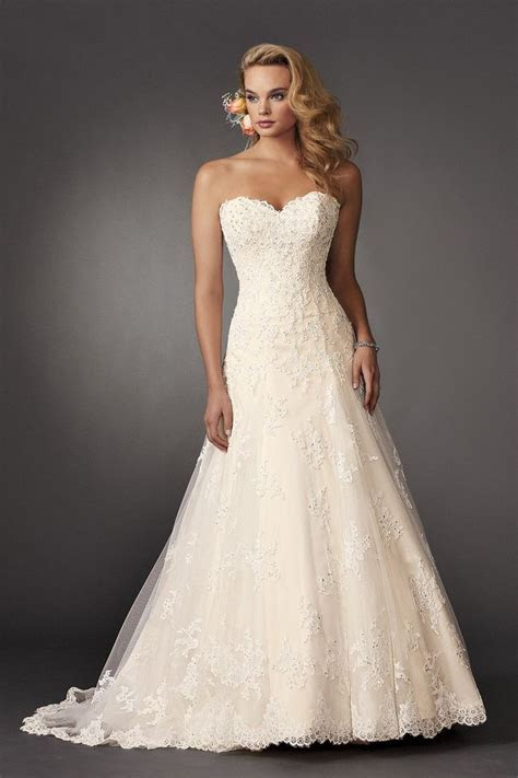 17 Best ideas about Diamond Wedding Dress on Pinterest