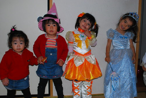 nana, lili, nao and sasha