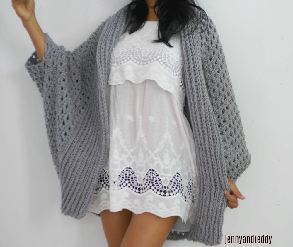 Hats chunky printable cardigan pattern patterns easy crochet free