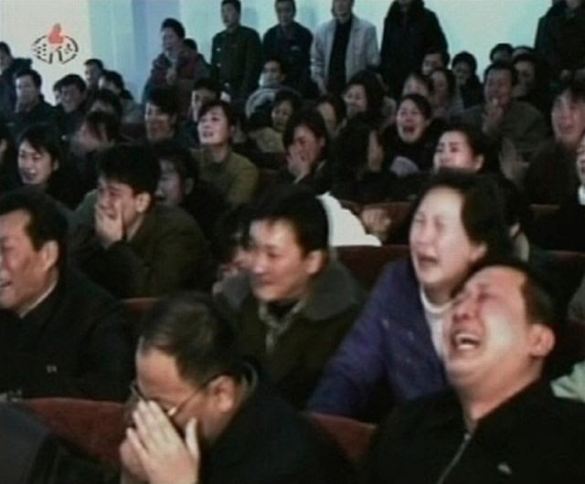 Mass Hysteria for Kim Jong-Il's Death