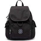 Kipling City Pack Backpack - Black/Silver