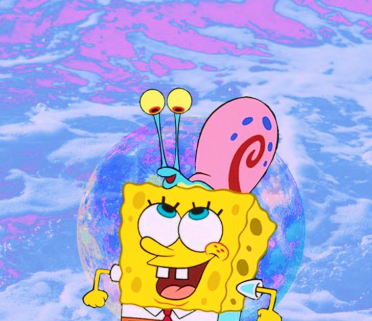 Ccp Gambar Spongebob Aesthetic Mirror Banyak Dunia Gambar