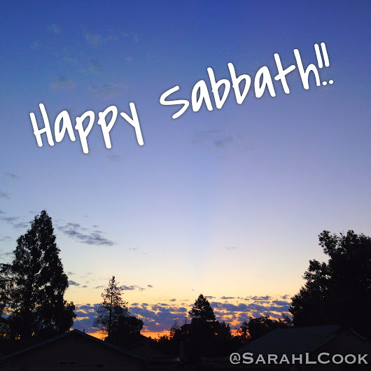 He Made All This and the Sabbath for YOU!