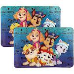 Danawares 30371500 Paw Patrol Plastic Placemat Set - Pack of 2