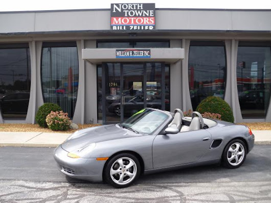 Used 2002 Porsche Boxster for Sale in Defiance OH 43512 Northtowne Motors