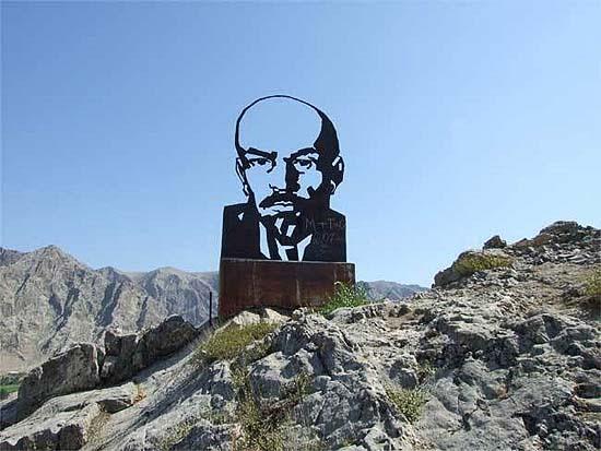 Lenin-fej Kirgizsztánban