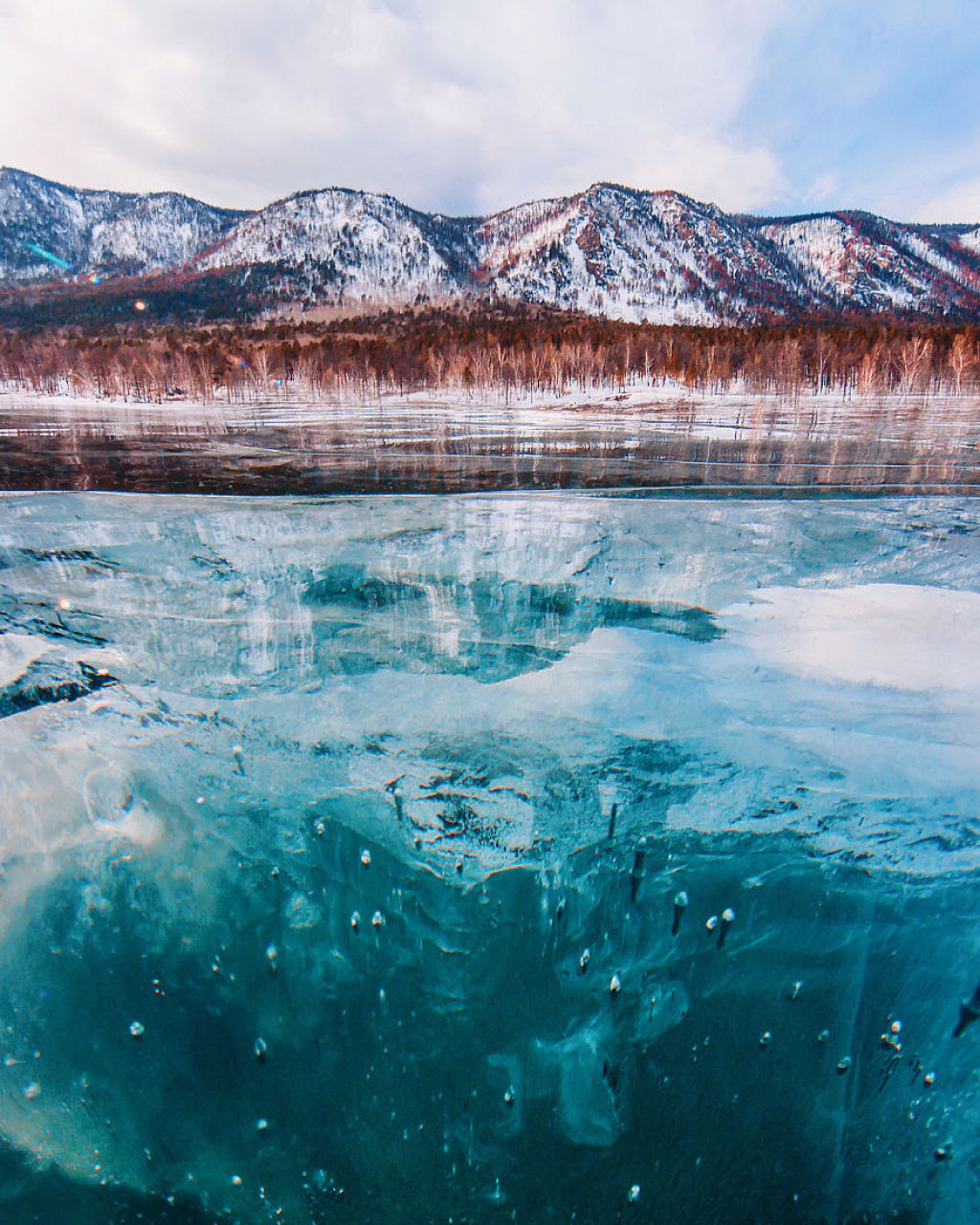 A beleza do lago mais profundo e antigo da Terra: o Baikal 11