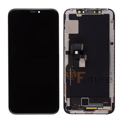 Apple iPhone X LCD Screen Digitizer Assembly with Frame Black