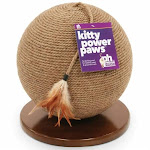 Prevue Hendryx 7130 Kitty Power Paws Sphere Scratching Post