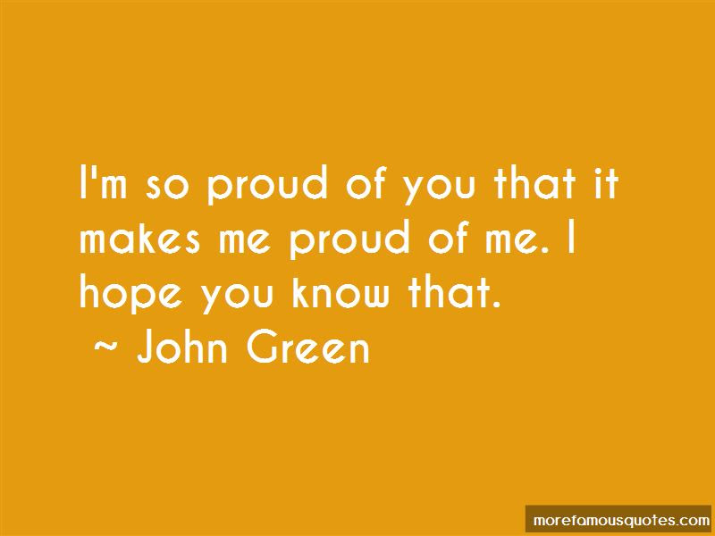 Im So Proud Of You Quotes Top 61 Quotes About Im So Proud Of You