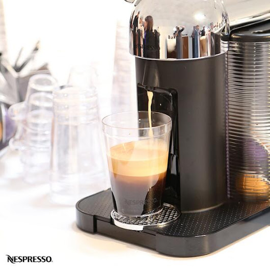 Entertain in Style with Nespresso coffee and VertuoLine!