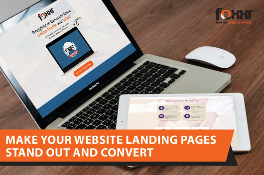 Make Your Website Landing Pages Stand Out and Convert