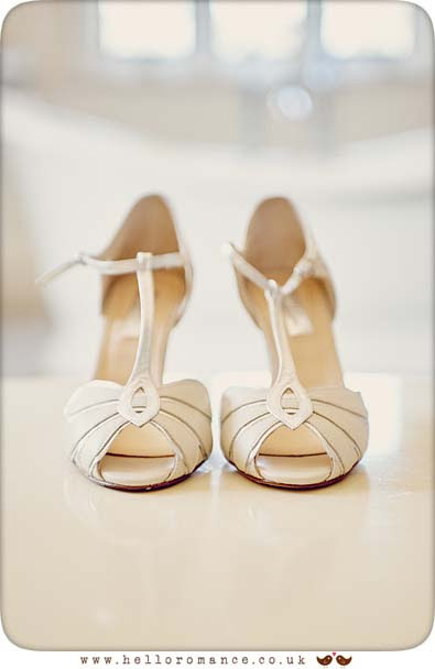 Cool bride shoes - www.helloromance.co.uk