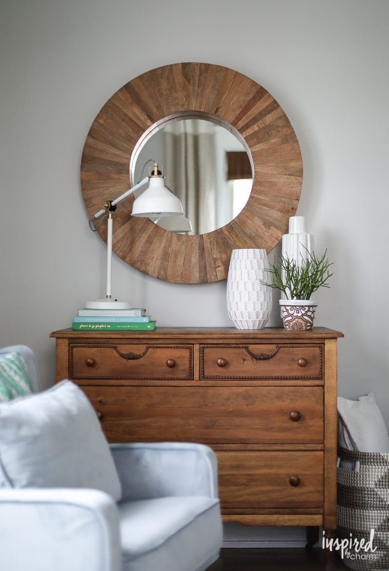 Image result for wall mirror in guest bedroom