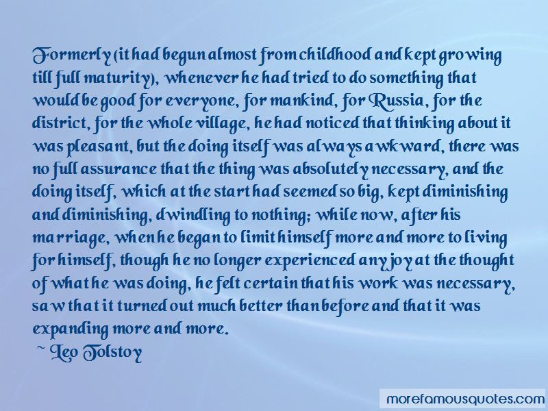 Quotes About Maturity And Growing Up Top 29 Maturity And Growing Up