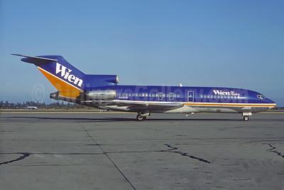 Wien Air Alaska Boeing 727-22C N490W (msn 19091) SEA (Bruce Drum). Image: 102511.
