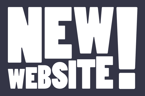 New Website Text Image