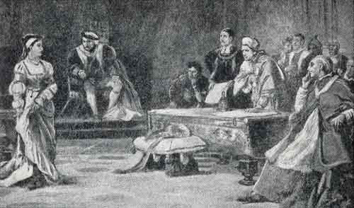 Catherine of Aragon in Court