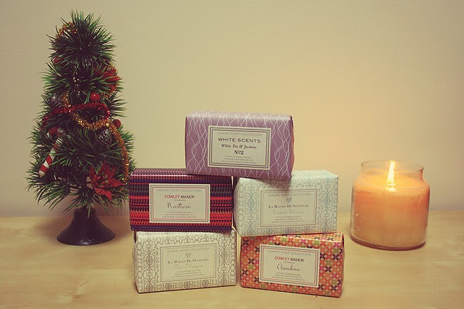 PRODUCT REVIEW - MARKS & SPENCER LUXURY SOAPS | VIPXO