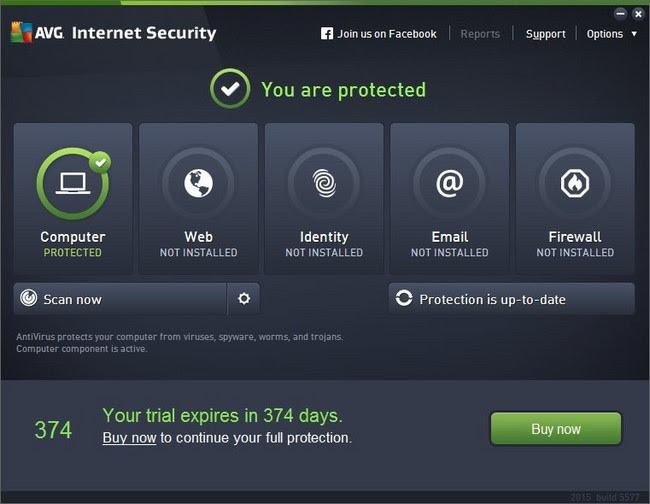 AVG Internet Security 2016 v16.0 Build 7357 (x86 x64)