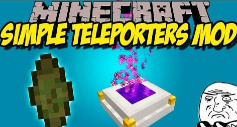 Simple Teleporters Mod for Minecraft [1.11.2/1.10.2/1.9.4 ] - Azminecraft.info