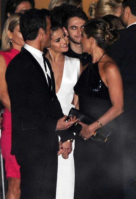 Jennifer Aniston & Justin Theroux Celebrate Their Two Year