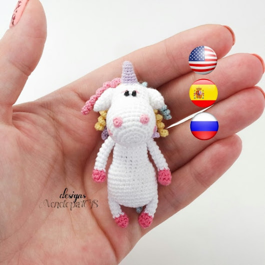 Pattern Unicorn amigurumi crochet unicorn crochet unicorn