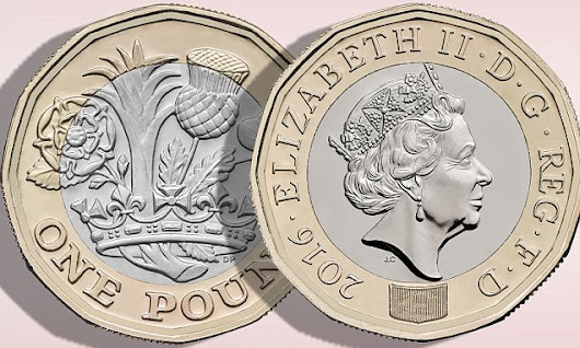 New One Pound Coin: One Giant Leap