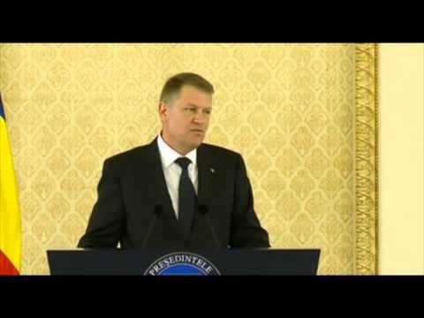 VIDEO Cum explică Klaus Iohannis relaţia cu Holzindustrie Schweighofer