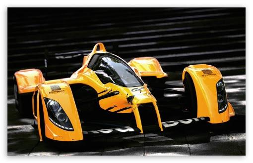 Racing Orange Car Ultra HD Desktop Background Wallpaper ...