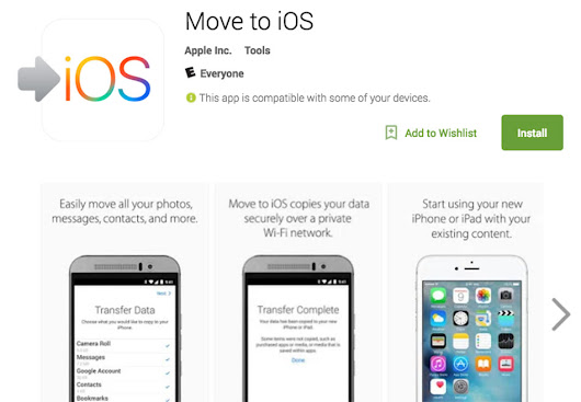 Apple's First Android App, Move to iOS, Hits Google Play | Droid Life