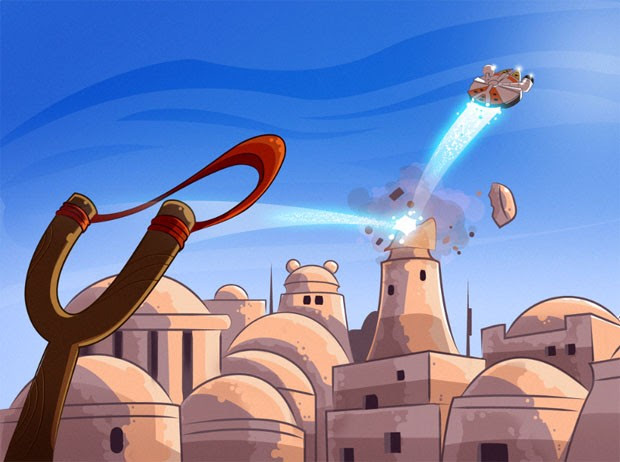 Angry Birds Star Wars adds scifi flavor to bird flinging, available today, we go handson