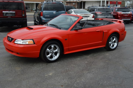 Used 2001 Ford Mustang GT Deluxe Convertible for Sale in Muncie IN 47302 Ron Greenwell Auto Sales
