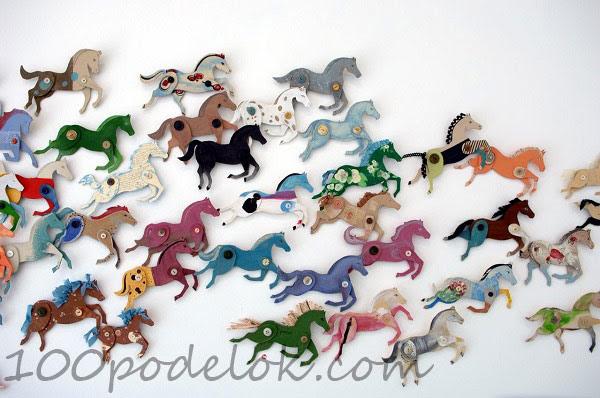 поделка лошадка (2)