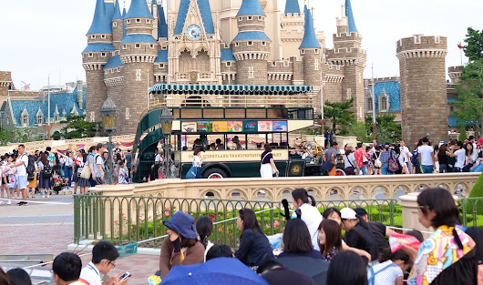 Travel Photo Series: Tokyo Disneyland & the Boys