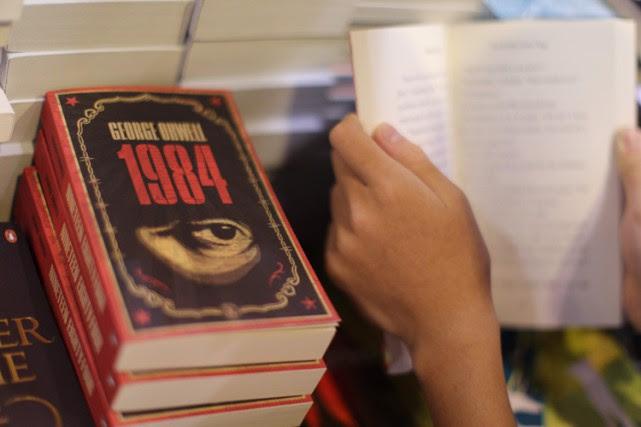 Une référence au roman 1984, utilisée, de manière involontaire, par... (ARCHIVES AFP)