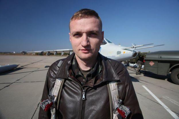 Украинский пилот Владислав Волошин