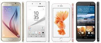 Four common characteristics of the average premium smartphone in 2015