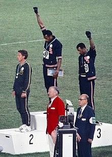 1968 - Tommie Smith & John Carlos