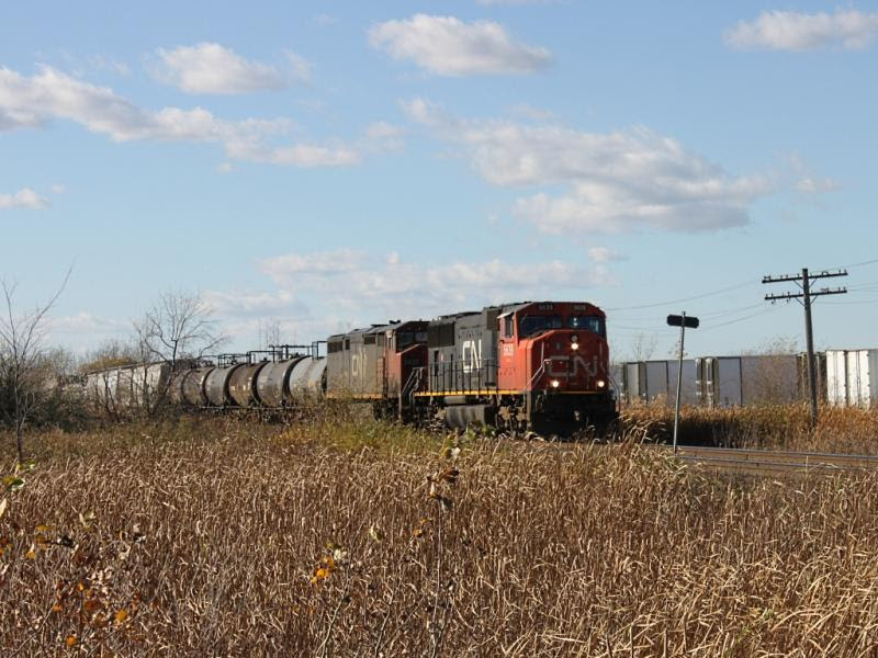 CN 5639 in Winnipeg