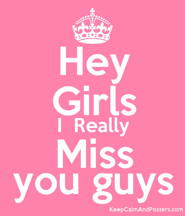 Really Miss You My Love Poster Immy Keep Calm O Matic