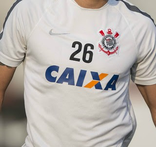 Camisa Corinthians (Foto: Daniel Augusto Jr/Agência Corinthians)