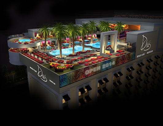 Las Vegas: Pool scene starting to heat up at Drai's, Picnic, Tropicana