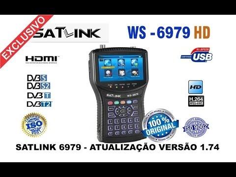 Satlink WS-6979 atualização v1.74 - via PENDRIVE ( INÉDITO ) CONFIRAM - 24/08/2016