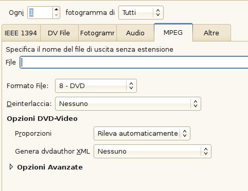 Creare DVD con Kino e ManDVD