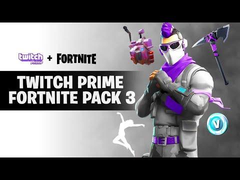 Pakiet Twitch Prime Fortnite   Fortnite Aimbot Skin