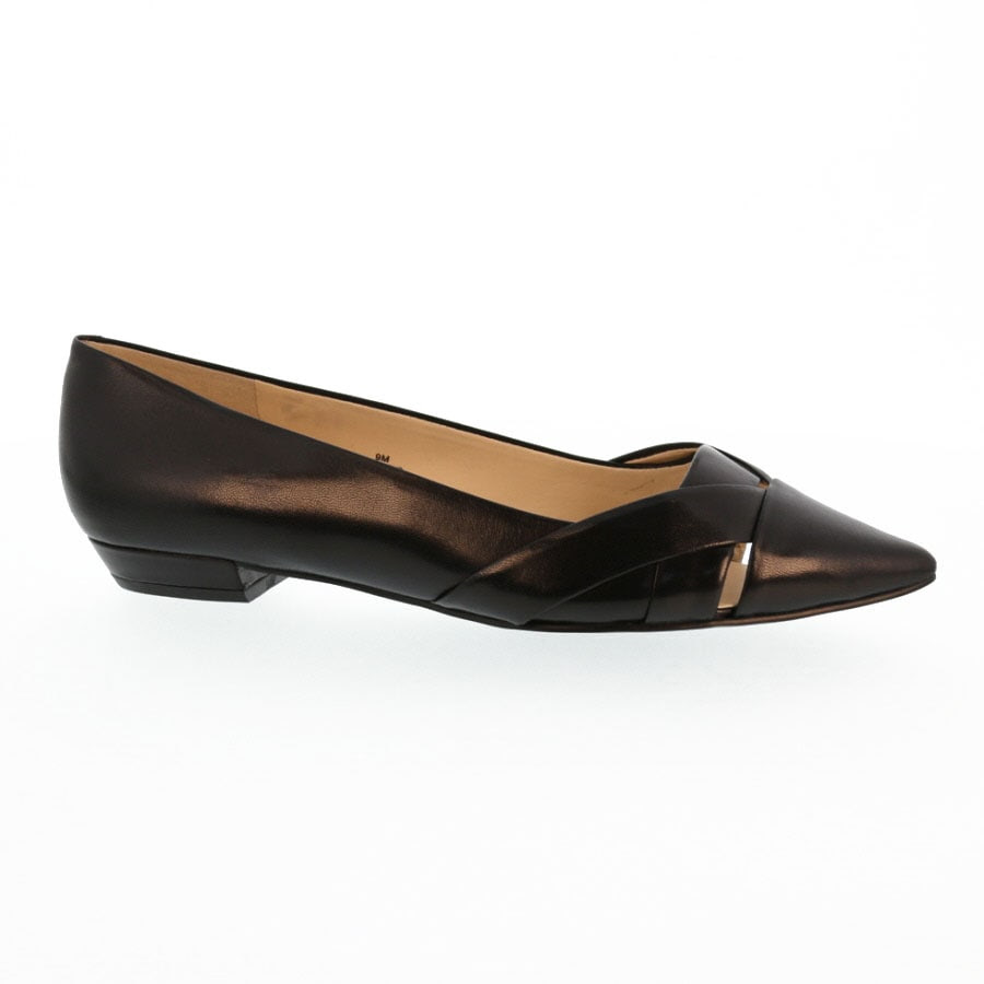 Nine West Tune Up Criss Cross Flat