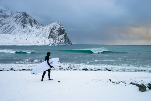 Video: Photographer Documents the Crazy Adventure of Surfing in the Arctic Circle